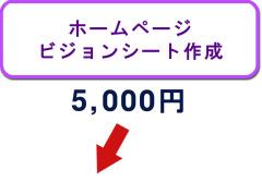 ホームページビジョンシート作成